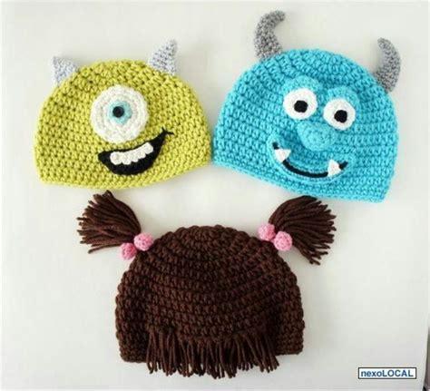 imagenes de gorros de animales gorros tejidos a crochet para bebes de animales