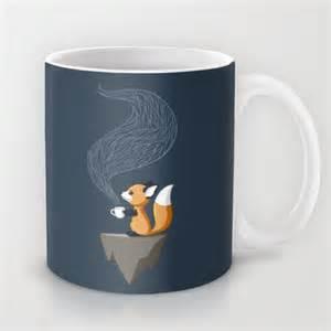 fox mug fox tea mug by freeminds society6
