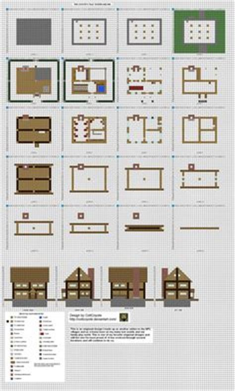 minecraft house blueprints layer by layer 1000 images about minecraft on layer by layer