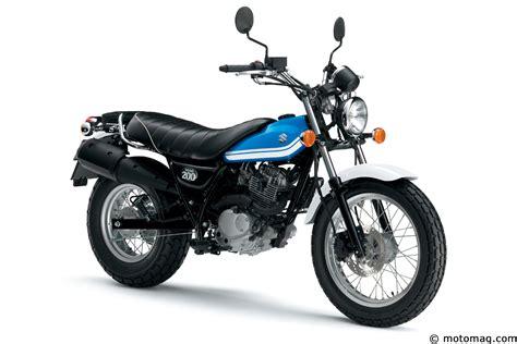 Suzuki Photo Nouveaut 233 Moto 2016 Suzuki 200 Moto Magazine