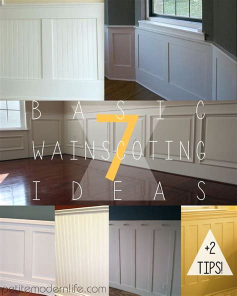 Modern Wainscoting Ideas 7 Basic Wainscoting Ideas Modern Tips And Beds