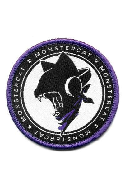 Hoodie Monstercat 01 uncaged woven patch monstercat
