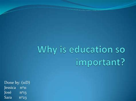 why education is important essay sles essay on why college education is important