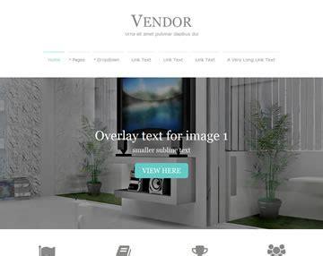 Vendor Website Template Free Website Templates Os Templates Vendor Website Template