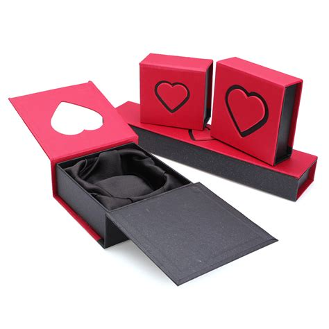Diskon Gift Box Charm jewellery boxes cardboard ring bracelet necklace charm gift jewelry box was listed