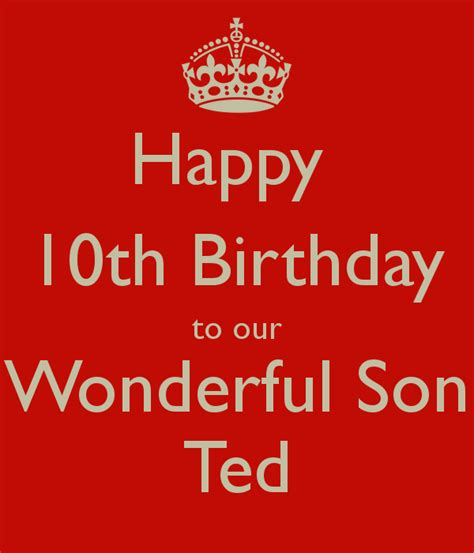 10th Birthday Quotes Happy 10th Birthday Quotes Quotesgram
