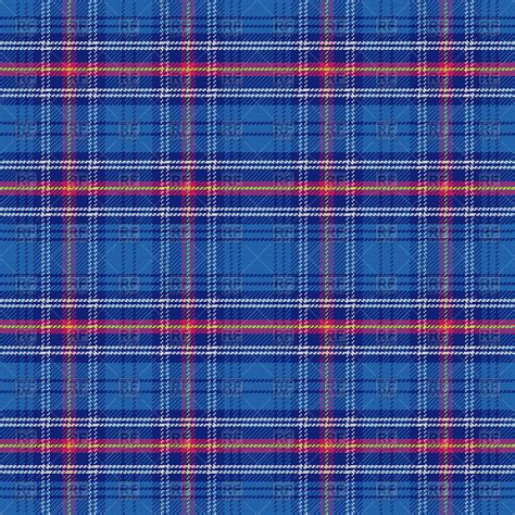 tartan pattern seamless pattern of blue scottish tartan vector clipart