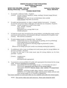 early childhood resume sle mission statement resume sop preschool