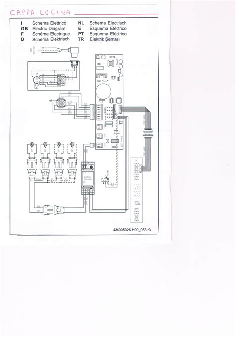 cappa elettrica cucina 187 schema elettrico cappa faber