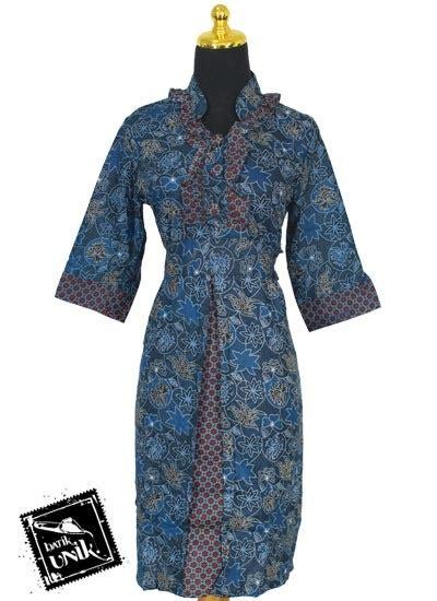 Dress Anak Motif Bintang baju batik sarimbit dress motif kembang bintang tumpal