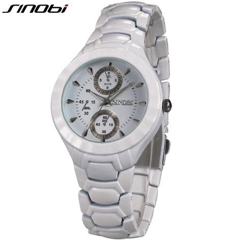 new fashion sinobi watches mens white black watches