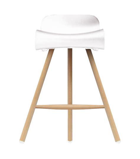 large wooden l base bcn wooden base stool kristalia milia shop