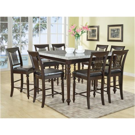 Lake Tahoe Brown 7 Pc Rectangle Dining Room Dining Room Sets Wood 7 Pc Square Dinette Dining 28 Images Bayside
