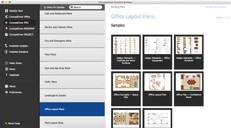 design element site plan professional building drawing design element office layout plan professional building