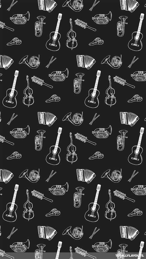 wallpaper whatsapp music musical instruments whatsapp wallpaper black white