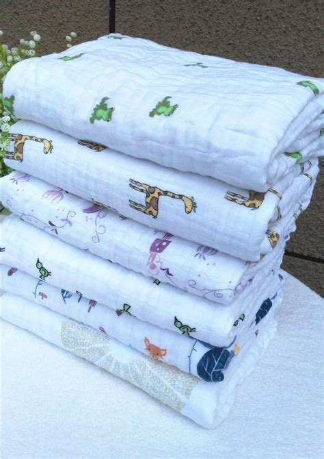 Bedong Bayi Hudson Baby 3 Bamboo Swaddle Blankets baby blanket aden anais autumn newborn supplies baby gauze holds soft blankets thickening 100