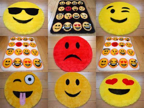 emoji rug cool emoji smily face rugs fluffy girls boys childrens