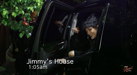 day one bedroom dancing rihanna has a dance party in jimmy kimmel s bed at 1 a m