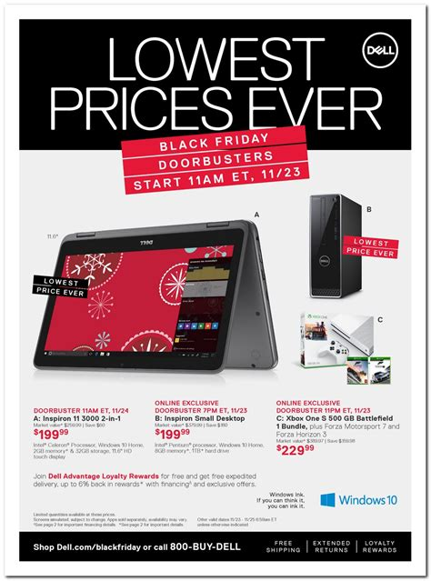 dell ad dell black friday ad 2017
