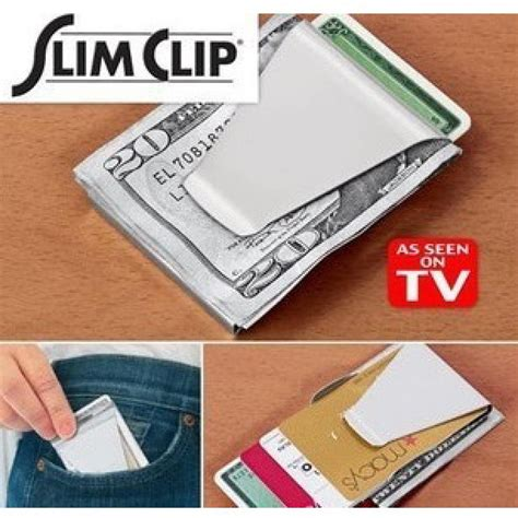 Stainless Steel Wallet Money Clip Besi Penjepit Uang besi penjepit uang kartu nama stainless steel wallet money clip cyber gadget