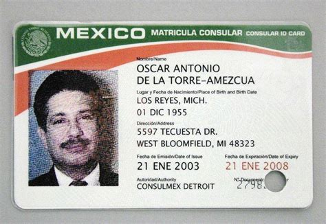diplomatic id card template lucas county to accept mexican id card the blade
