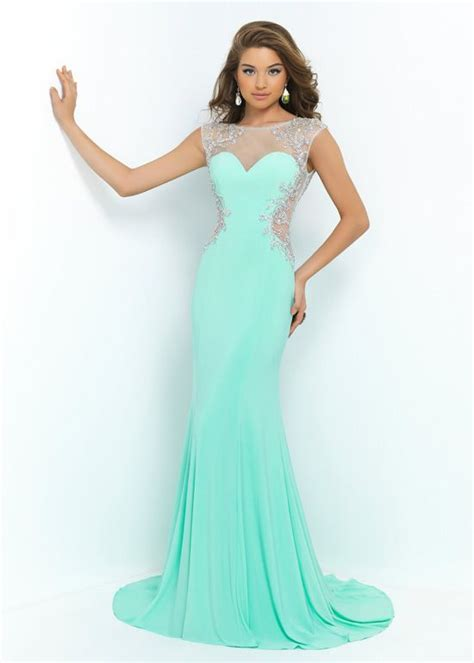 cap sleeves mint green sheer side cut outs beaded