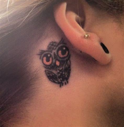 owl tattoo ear 100 most popular owl tattoos golfian com