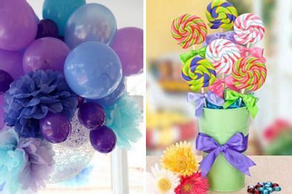 decoracion unicornio cumpleaños decoraci 243 n con pompones y globos imagui