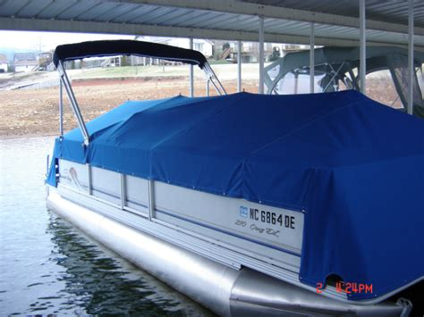 custom pontoon boat mooring covers boat covers canvasmasters