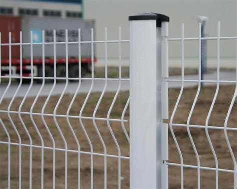 white wire mesh fencing white vinyl coated welded wire fence with galvanized and