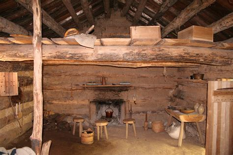 file prairie log cabin interior jpg wikimedia commons