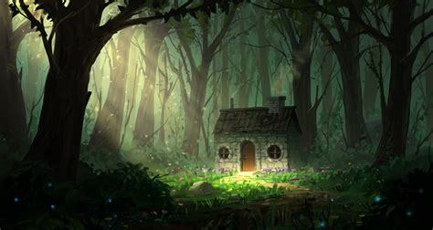 houses in the woods house in the woods by joakimolofsson on deviantart
