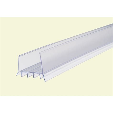 Housing 10 Clear Drat 3 4 Wl10 showerdoordirect 98 in l frameless shower door seal for 3 8 glass 38ddbs98 the home depot