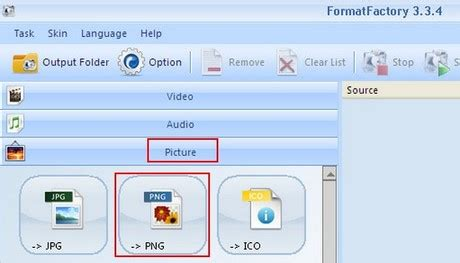 format factory encode 2pass converting to png image with format factory