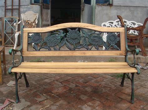 antique iron garden bench cast iron antique wooden garden bench view cast iron