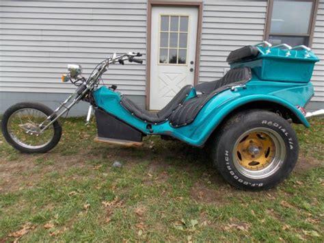 Dreirad Motorrad Mit Vw Motor by Vw Volkswagen Trike Chopper Custom Homemade Motorcycle