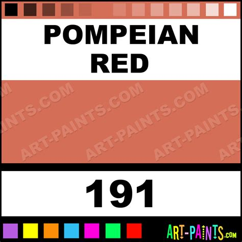 pompeian polychromos pastel paints 191 pompeian paint pompeian color faber