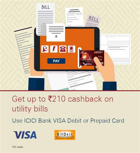 make payment of icici credit card credit card payment pay credit card icici bank