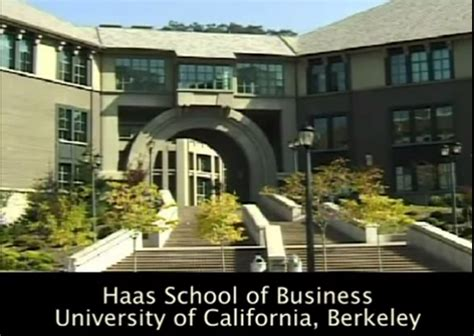 Haas Schooll Of Busineess Mba by Uc Berkeley Haas School Of Business Dean Speaker S