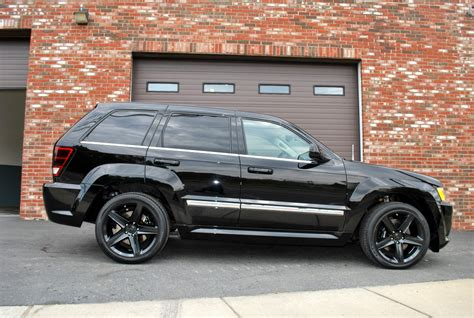 lowered jeep grand cherokee mmgcsrt8 2007 jeep grand cherokeesrt8 sport utility 4d