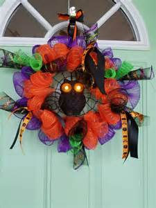 wreaths that light up owl wreath with light up fall wreath orange