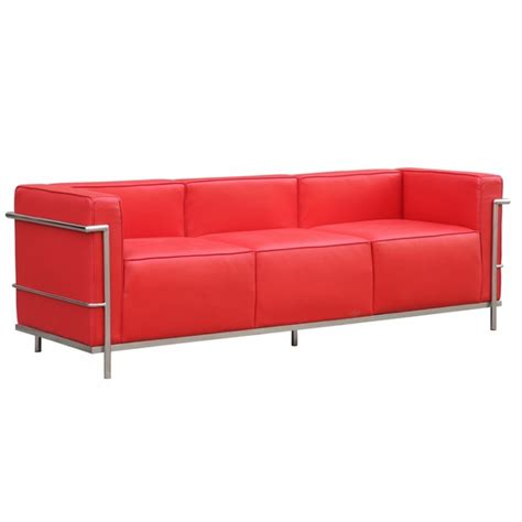 lc3 sofa grand lc3 leather sofa modern in designs