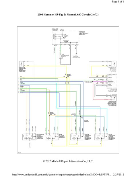 2007 hummer h3 air conditioning system wiring diagrams hummer h3 light wiring diagram 35 wiring diagram