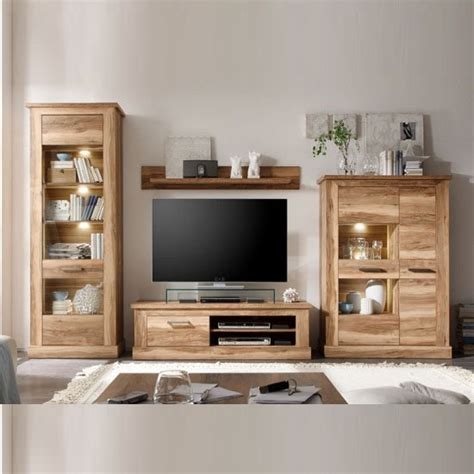 Walnut Furniture Living Room Montreal Living Room Furniture Set 1 In Walnut Satin With