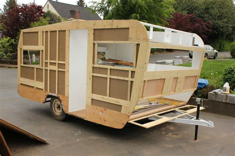 travel trailer restoration ideas 1967 kit companion travel trailer restoration diy