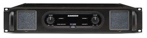 Samson Sx3200 Sx 3200 Sx 3200 Power Lifier Garansi Resmi samson sx3200