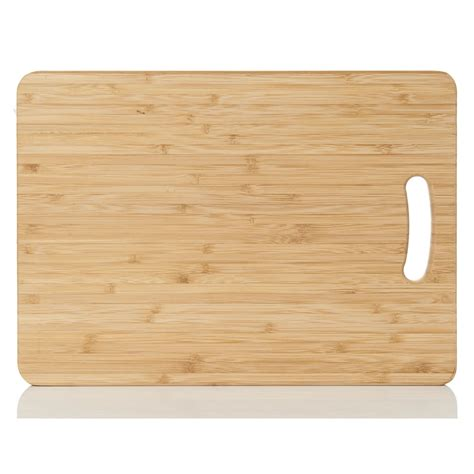 wilko chopping board bamboo large at wilko com