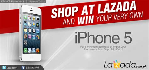 Iphone 5 Giveaway - giveaway win an apple iphone 5 from lazada philippines noypigeeks