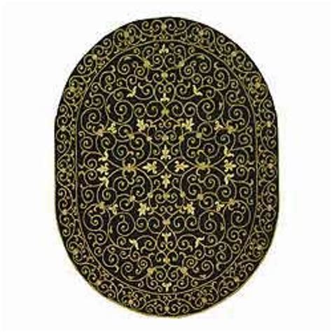 Black Wool Area Rugs Safavieh Chelsea Hooked Black Wool Area Rugs Hk11a Ebay