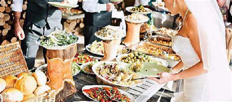banquetes de bodas tipos de comida en el banquete para bodas visitas